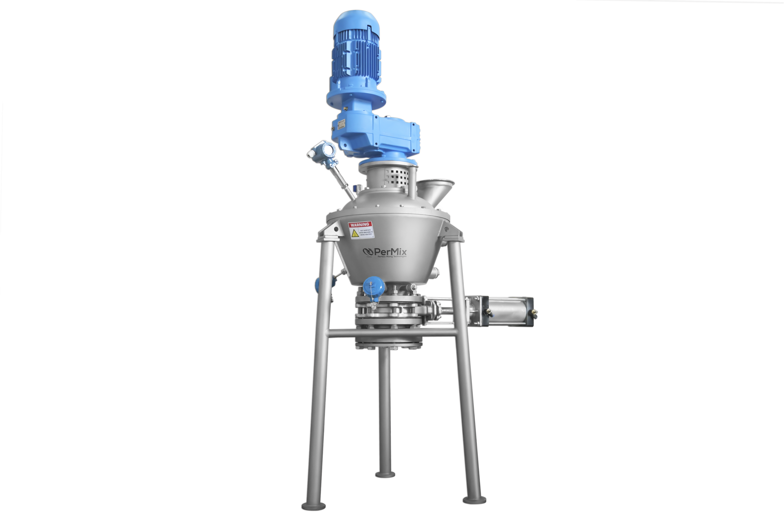 PerMix Vertical Vacuum Ribbon Mixers & Dryers Answer The Need For High-Temperature Mixing In Hazardous Areas